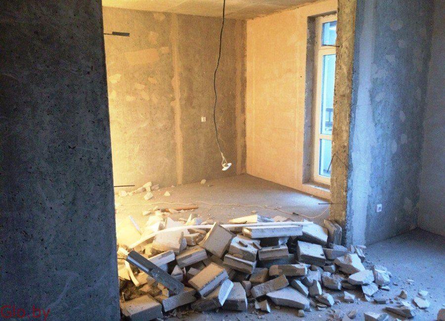Слом стен, перегородок. Демонтаж. Подготовка к отделке.