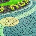 Укладка тротуарной плитки (брусчатки)