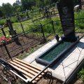 Благоустройство могил, установка памятников. Выезд Ивенец и рн