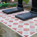 Укладка Тротуарной Плитки, Керамогранита, бордюра на кладбище