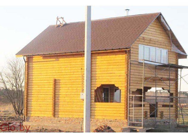 Строим Дома и Бани из бруса.У нас недорого 100% .