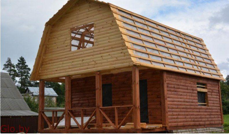 Построим Дом из бруса 6 х 8м (мастера своего дела)