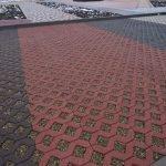 Укладка брусчатки, тротуарной плитки от 50 м2