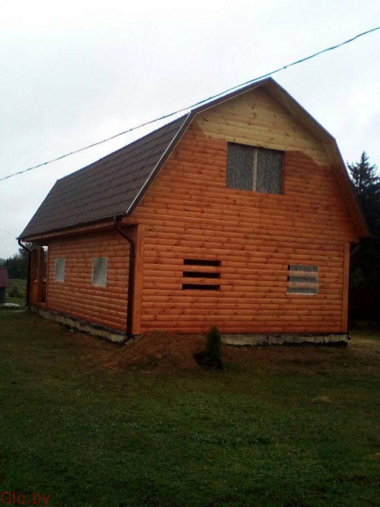 Дом из проф.бруса 9х7м качественный сруб недорого