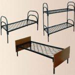 Кровати металлические двухъярусные для дома