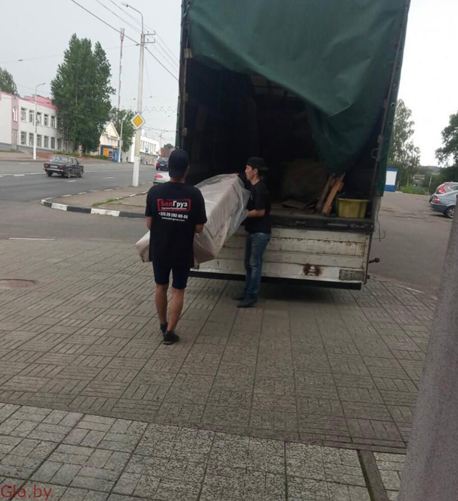 Грузоперевозки в Минске