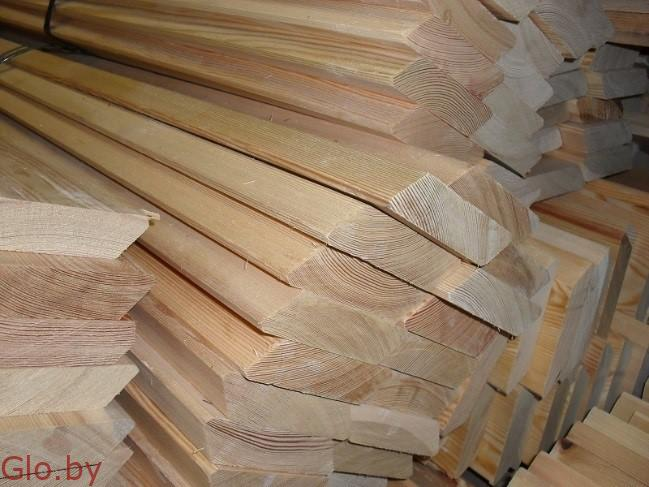 Доска фасадная планкен из сибирской лиственницы