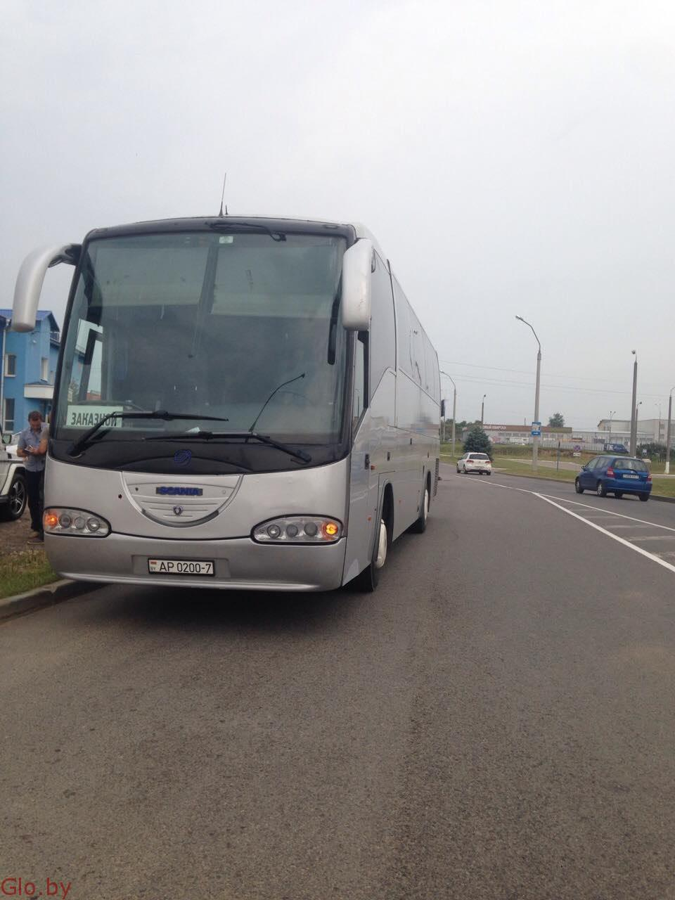 Заказ автобуса, аренда автобуса 50 мест минск