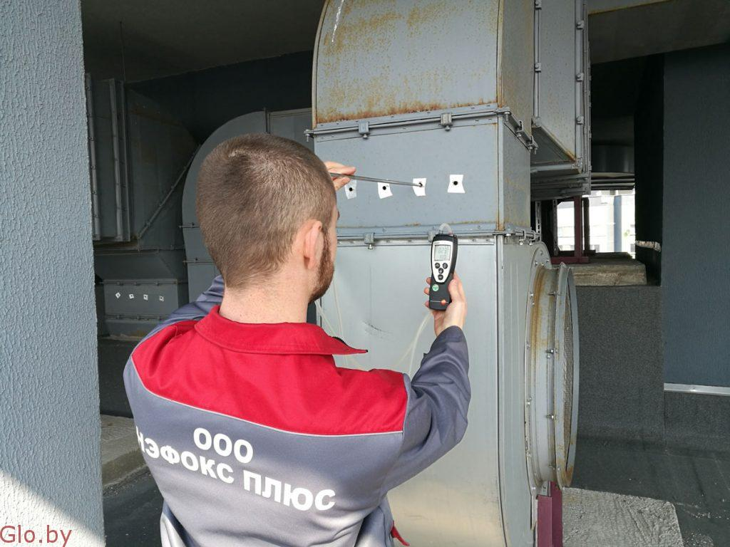 Аэродинамические испытания вентиляции и ПДЗ, паспортизация вентиляции