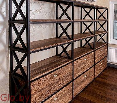 Мебель в стиле лофт - Изготовление мебели Loft на заказ