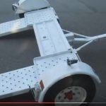 Эвакуатор частичной погрузки, поворотная платформа, до 1400 кг