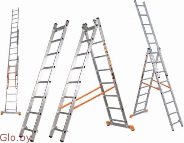 Аренда лестниц - 2м - 6руб, 6 м - 8 руб., 7-10 м - 10 руб. .