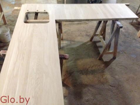 Столешницы для кухни из дуба