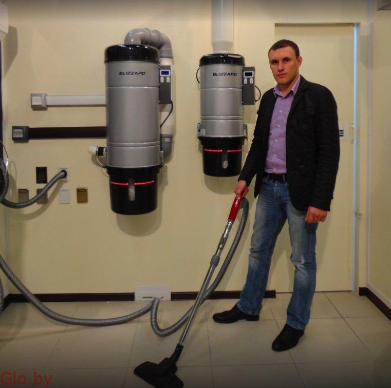 Монтаж систем центрального пылеудаления ( встроенный пылесос )