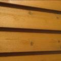 Деревянный сайдинг ( Американка ) (Сибирская лиственница)