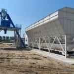 Быстровозводимый бетонный завод