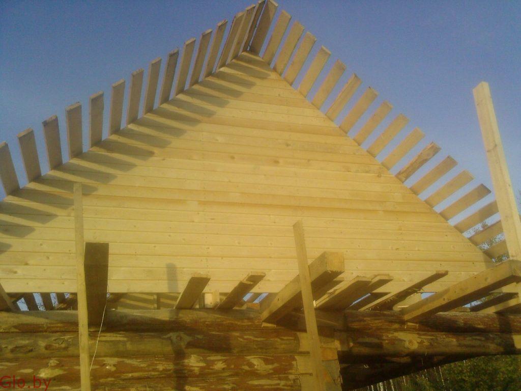 Строительство крыш выезд: Минск и область