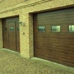 Секционные гаражные ворота с торсионными пружинами