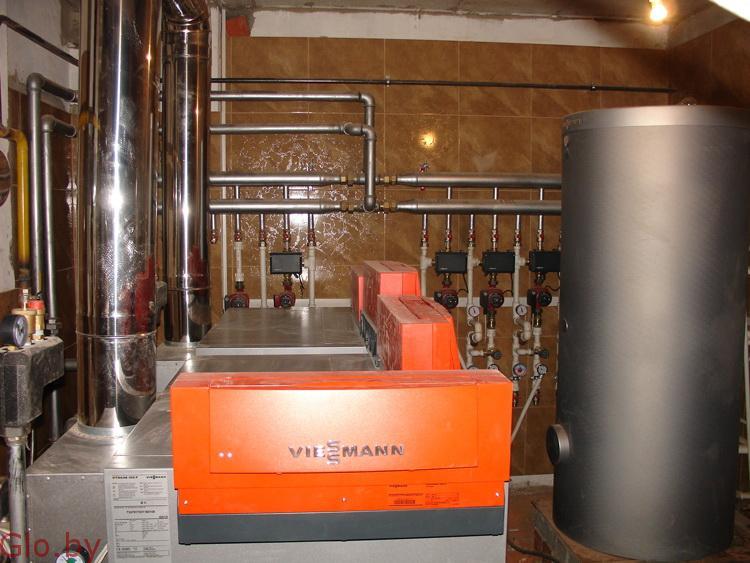 Монтаж систем отопления выезд: Городея и район
