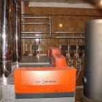 Монтаж отопления для частных домов в Червене