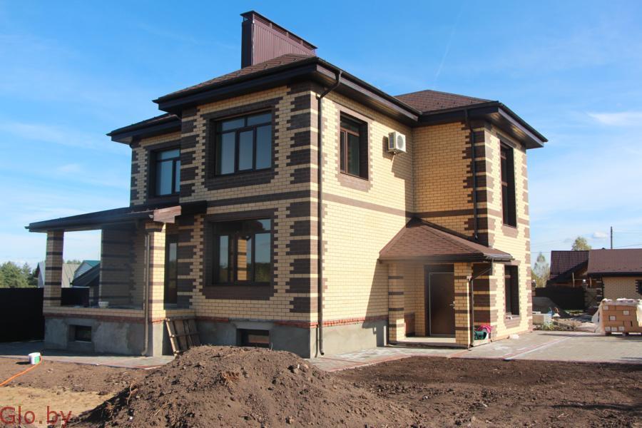 Стоительство домов из кирпича под ключ в Крупском р-не