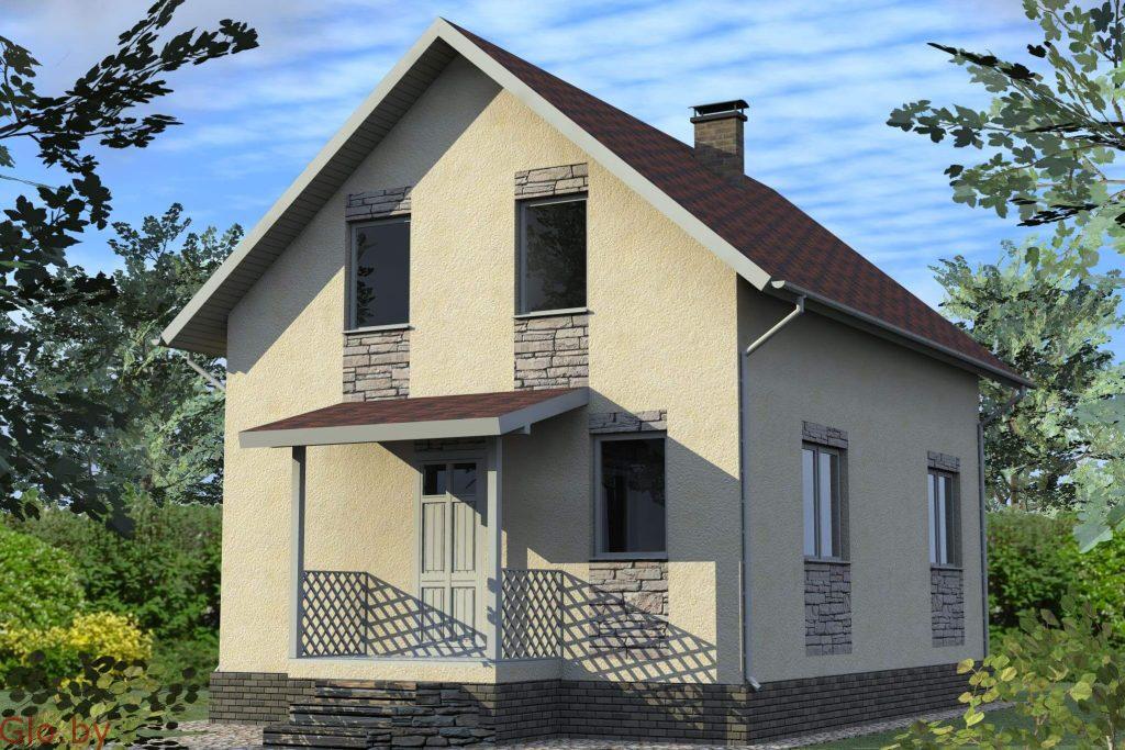 Стоительство домов из блоков под ключ в Зеленом Боре