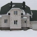 Стоительство домов из блоков под ключ в Клецком р-не
