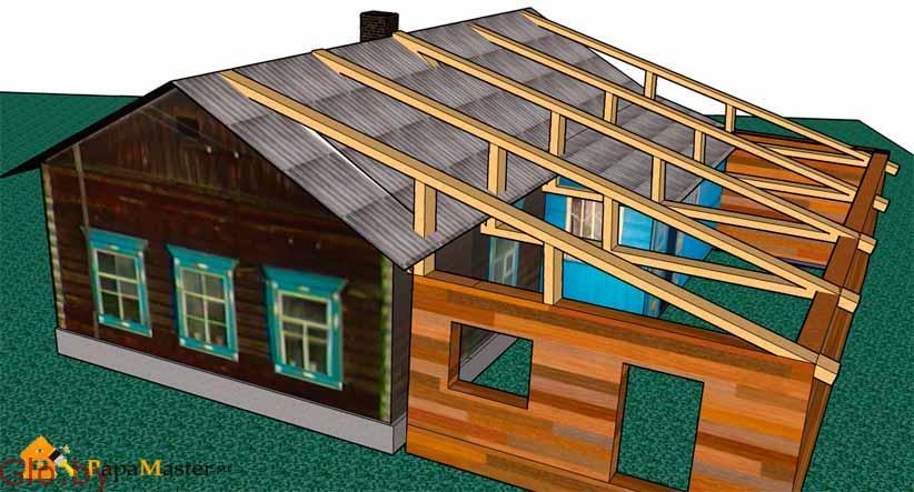 Пристройки к дому строительство и ремонт