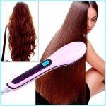 Расчёска для выпрямления волос Fast Hair Straightener