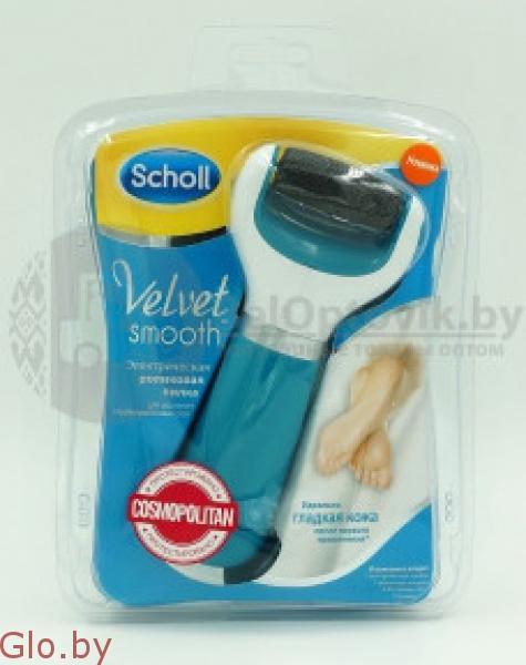 Роликовая электрическая пилка для стоп velvet Scholl Smooth