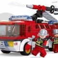 Конструктор Пожарная бригада Огнеборцы, 192 детали 1283695