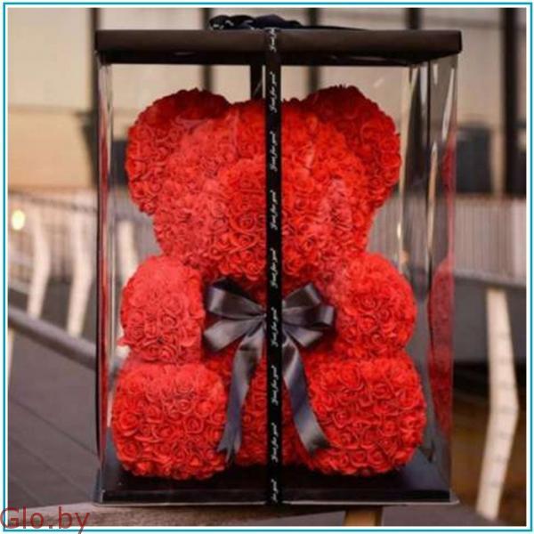 Подарочная коробка для Мишек из Роз