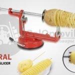 Машинка для резки картофеля спиралью Spiral Potato Slicer