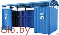 Площадка (навес) для мусорных контейнеров