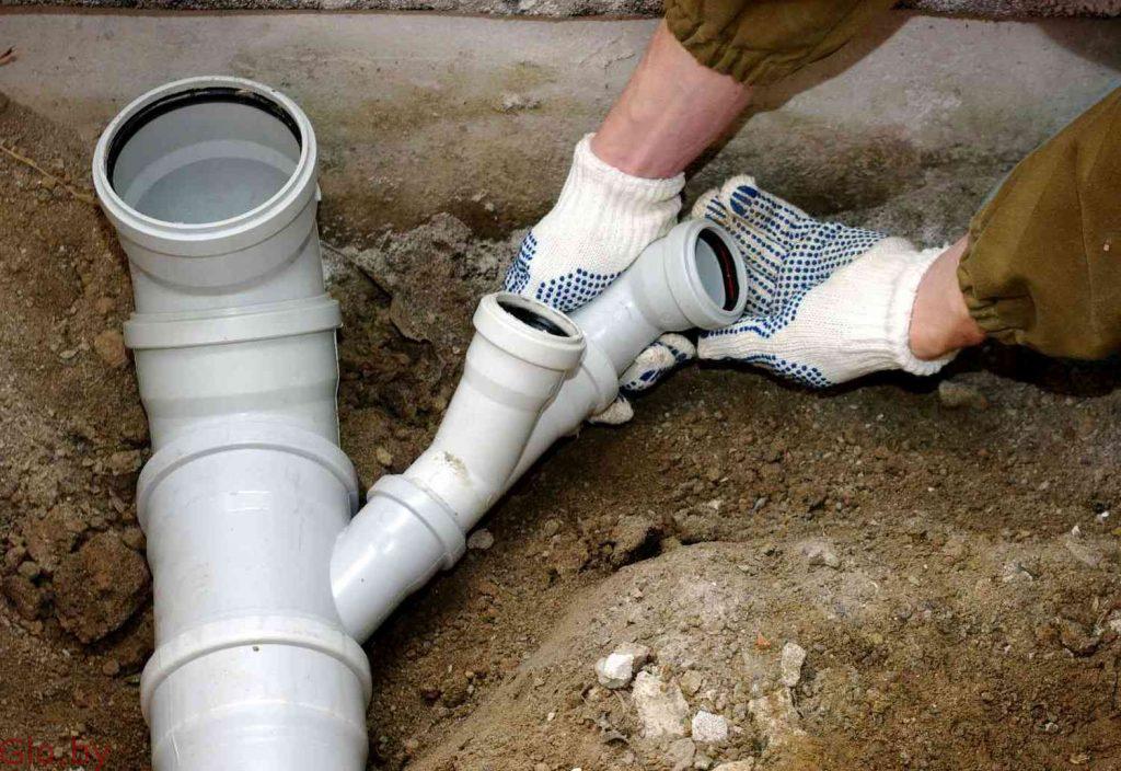 Монтаж систем канализации. Минск и район