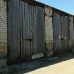 Гаражный бокс для грузового автомобиля, Волковыск