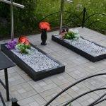 Благоустройство могил,мест захоронения.Установка памятник