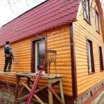 Отделка деревянных домов внутри/снаружи качественно