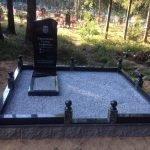 Благоустройство мест захоронения. Большой опыт