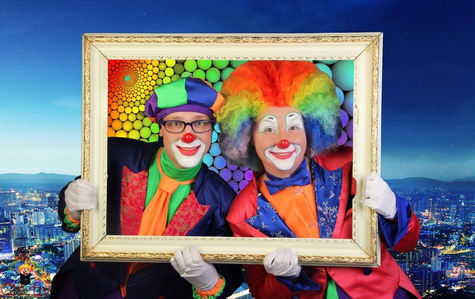 Клоуны, фокусники, шоу мыльных пузырей на праздник в Минске!