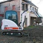 Аренда мини-экскаватора Bobcat 328