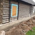 Поднять дом, Ремонт и усиление деревянного дома, замена венцов