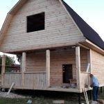 Дом из профилированного бруса сруб Алексей 6х6 м