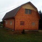 Дом из профилированного бруса сруб Владимир 9х7 м