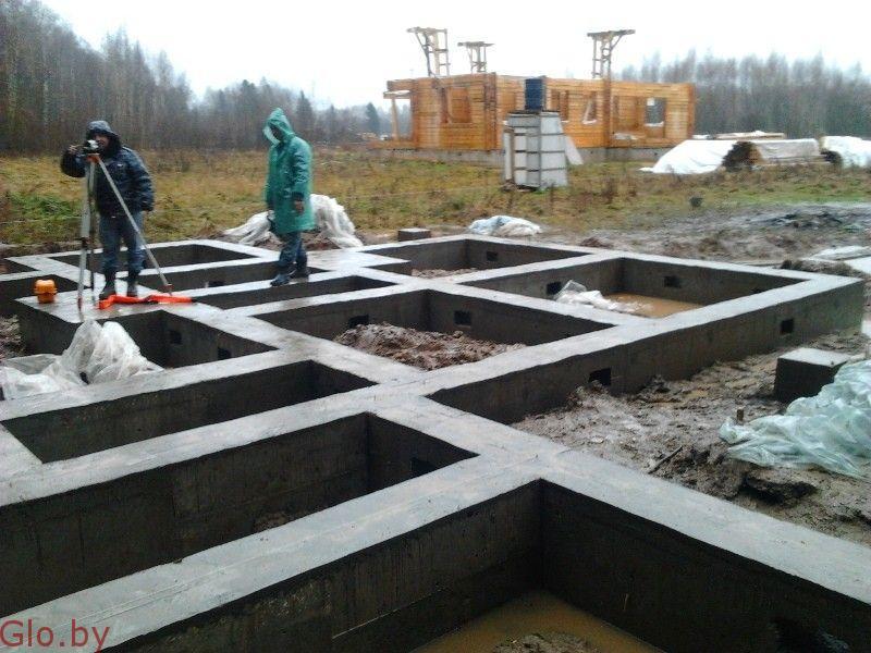 Малоэтажное домостроение Фундамент в Гродно и обл