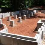 Фундамент, Подьем Домов, блочные дома под ключ в Дятлово