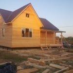 Каркасный дом 9,5х10,5 по проекту Лапинлахти под ключ