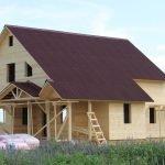 Строительство каркасных Дома и Бани под ключ на 5+
