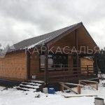 Каркасный Дом 7.5х6м по проекту Саяла под ключ
