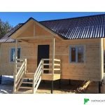 Каркасный Дом под ключ 7.5х9 м проект Калгари